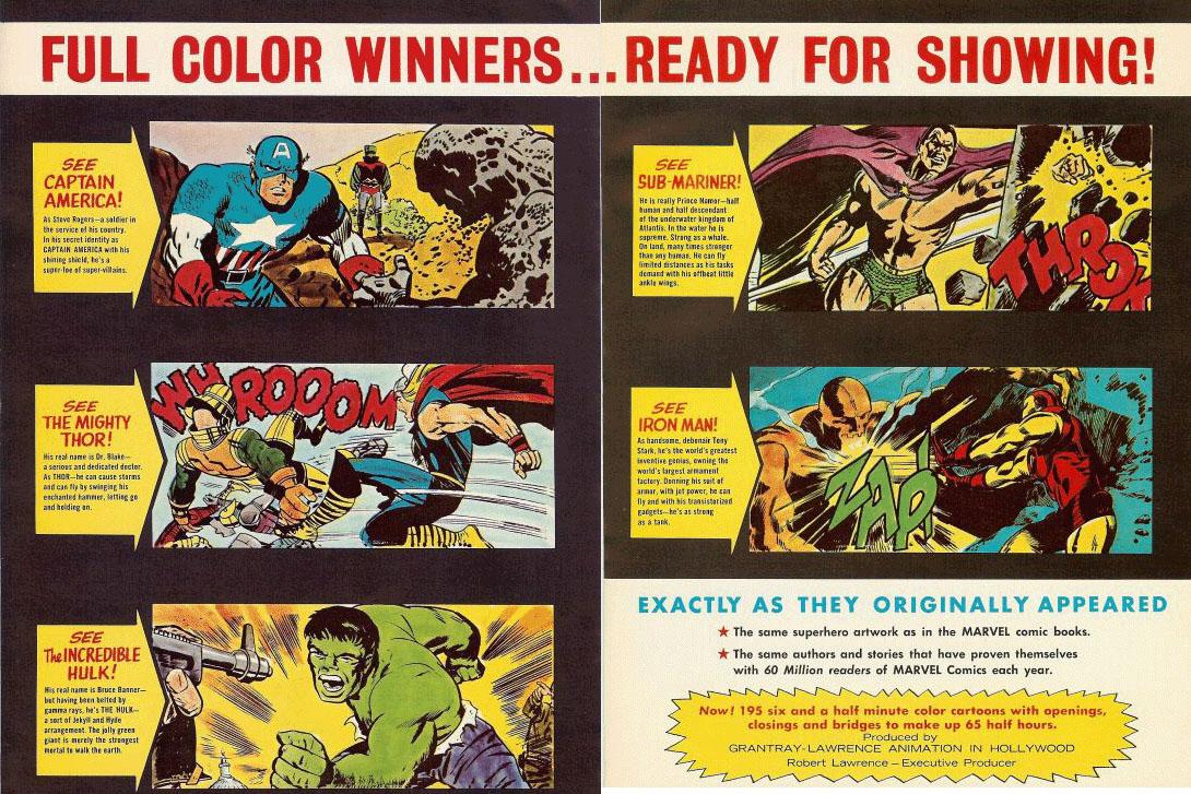 Marvel Super Heroes 60 Superhéroes: The Marvel Super-Hero Cartoons (1966