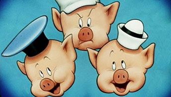 "Disney's 1963 ""Three Little Pigs"" Sequel"