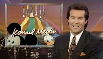 &#8220;Entertainment Tonight&#8221; on Animation 1993
