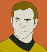 Most Touching Valentine - K+B by taconaco.deviantart.com ... |Drawing Cute Cartoon Star Trek Kirk