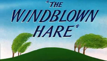 "Animator's Draft: ""The Windblown Hare"" (1949)"