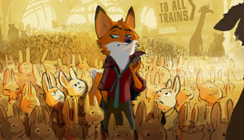 Zootopia and Other Animal Worlds