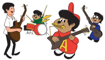 Alvin And The Chipmunks Sing The Beatles