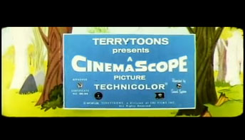 Terrytoons in CinemaScope