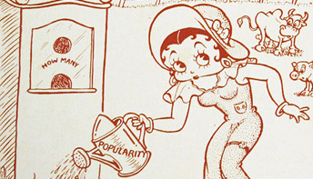 "Fleischer Promo Art #4: ""Betty Boop's Box-Office Farm"""