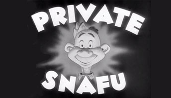 Coming to Blu-Ray: SNAFU!