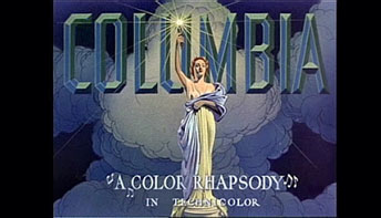 "Columbia's ""Color Rhapsody"" Stock Posters"