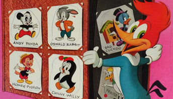 Woody Woodpecker on Records