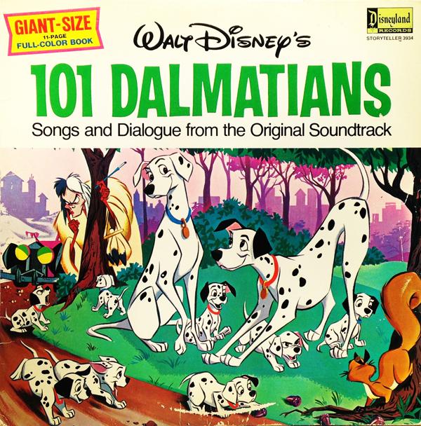 101 dalmatians on records