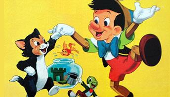 "Walt Disney's ""Pinocchio"" on Records"