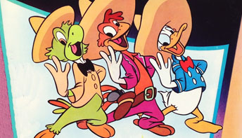 "Walt Disney's ""The Three Caballeros"" on Record"