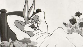 hot cross bunny original cartoon