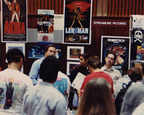 Carl and Jerry meet the fans at the 1990 San Diego Comic Con.