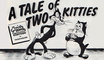 "Bob Clampett's ""A Tale Of Two Kitties"" (1942)"