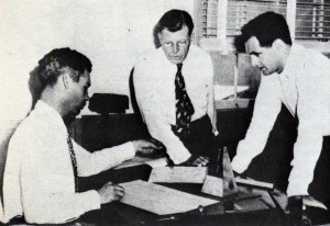 Bill Hanna, Fred Quimby and Joe Barbera