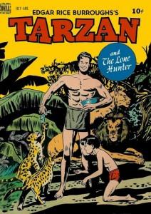 TARZAN Dell No. 4 cover