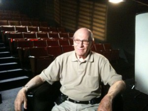 Gene Deitch in 2010 sitting for an interview that is now part of this new DVD collection.