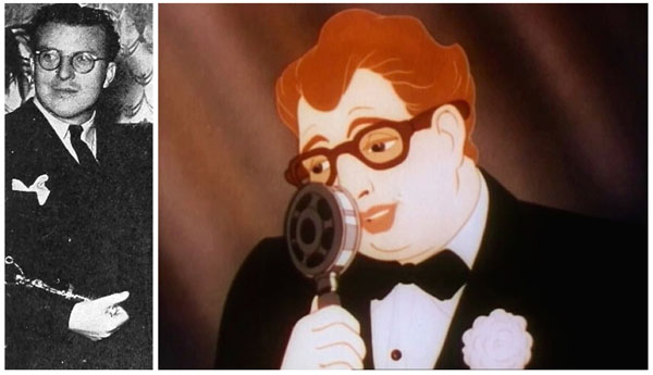 "John Nesbitt makes a rare animated cameo appearance in ""Good Wrinkles""."