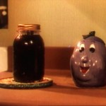 "A Sunny Sweet Prune jar, as seen during the live action sequences in ""Good Wrinkles""."