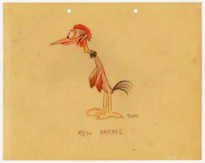 Ken Harris by T. Hee (click to enlarge)