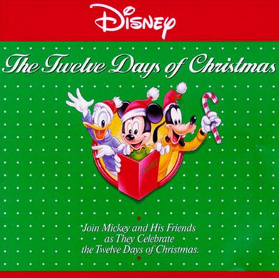 Disney12DaysChristmasCD