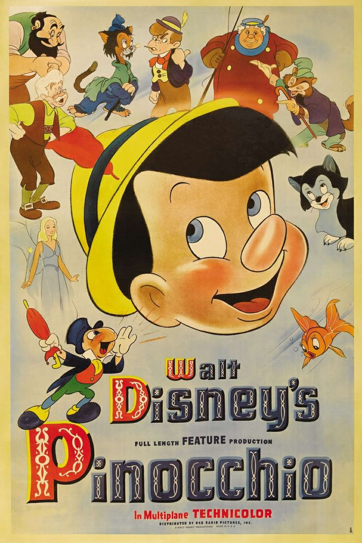 pinocchio in animation � part 1