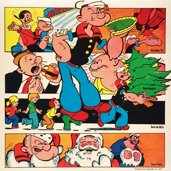 Back cover - Popeye by Neal Adams!