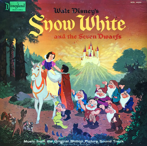 walt disney�s �snow white and the seven soundtrack albums�