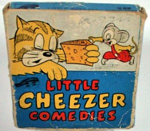 The box art for the Little Cheezer (sic) 16mm home movie release