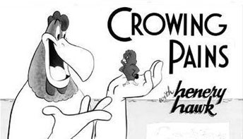 "Foghorn Leghorn in ""Crowing Pains"" (1947)"