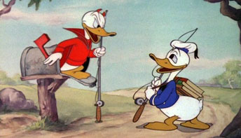 "Disney's ""Donald's Better Self"" (1938)"