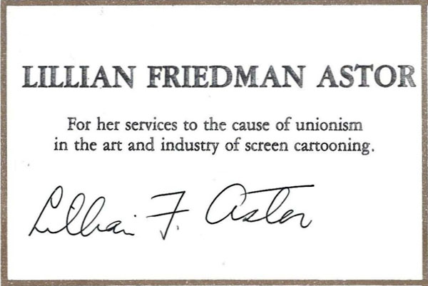 Lillian Friedman Astor-signature600