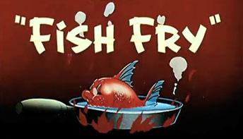 """Walter Lantz' """"Fish Fry"""" (1944)"""