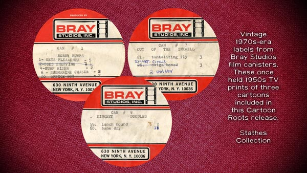 Gallery Bray film labels