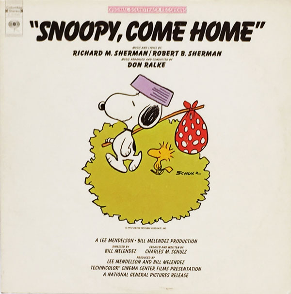 SnoopyComeHomeLP-Front