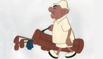 "UPA's Mr. Magoo in ""Grizzley Golfer"" (1951)"