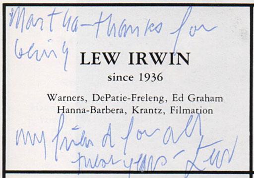 lew-Irwin