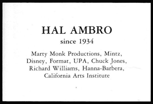 Hal Ambro-credits600