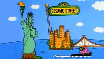 """The Cartoons of """"Sesame Street"""" on Records"""