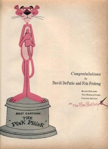 Pink Phink Statue