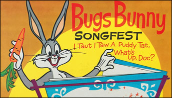 "Golden Records' ""Bugs Bunny Songfest"" (1961)"