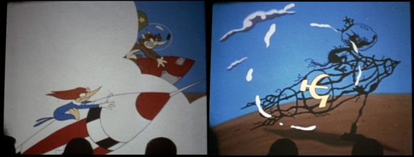 "Frames from the 1998 HBO miniseries ""From The Earth to the Moon""."