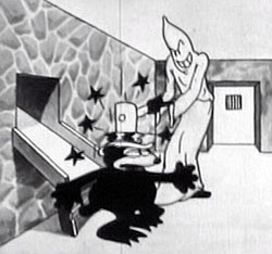 "From Disney's ""Alice's Mysterious Mystery"" (1926)"