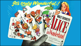 "The March of the Cards in ""Alice in Wonderland"" (1951)"