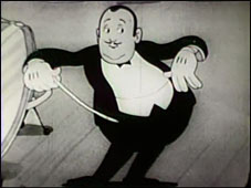 """From the Krazy Kat """"Bandmaster"""" (1931)"""