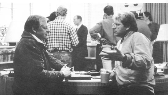 Richard Williams (left) and Robert Zemeckis (right)