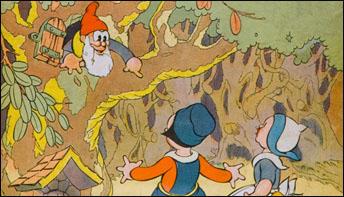 """Walt Disney's """"Babes In The Woods"""" (1932)"""