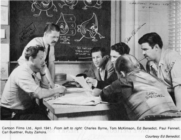 Cartoon Films Ltd 1941-600