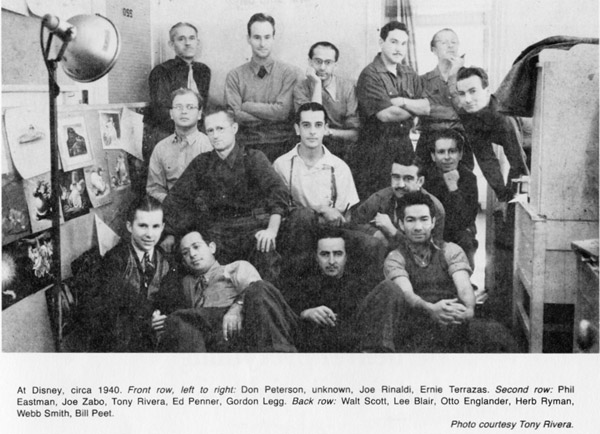 Disney Studio 1940 group600