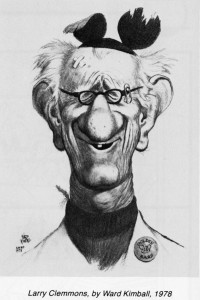 Larry Clemmons by Ward Kimball-600